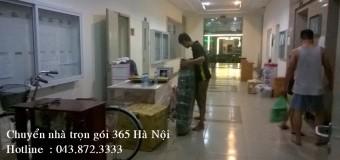 Dịch vụ chuyển đồ trọn gói giá rẻ nhất Hà Nội