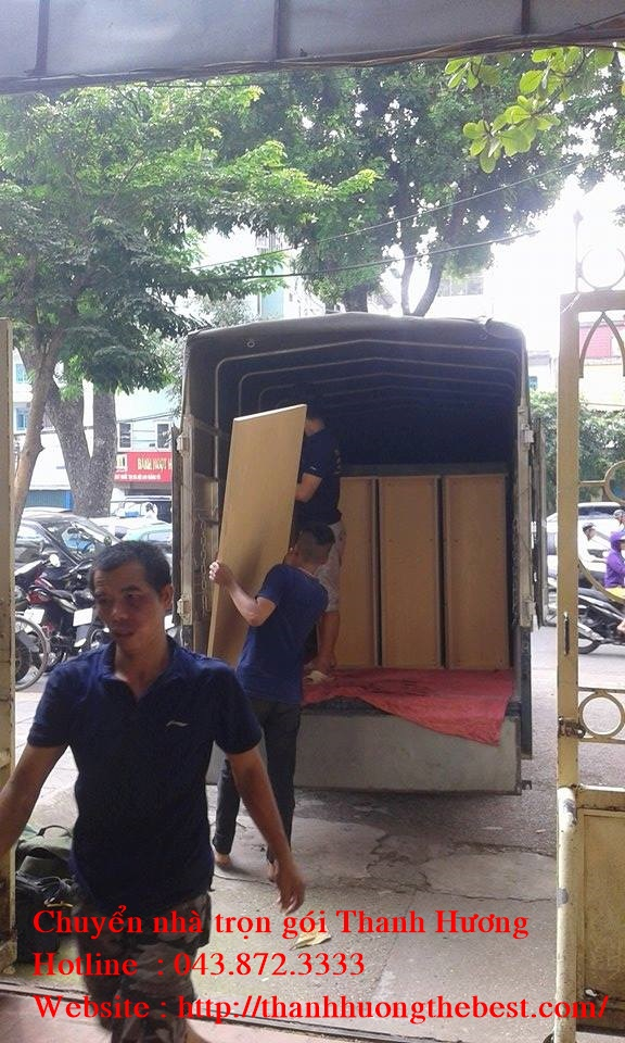 Chuyển văn phòng giá rẻ tại phố Nguyễn Trãi
