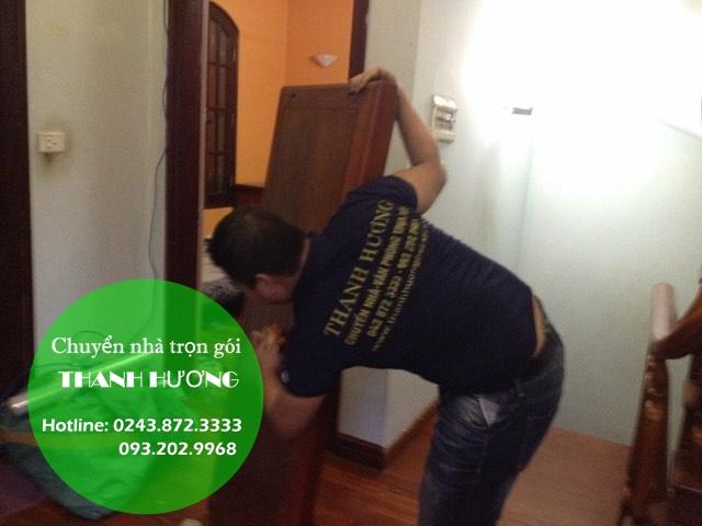 Dịch vụ chuyển nhà trọn gói tại phố Giang Văn Minh