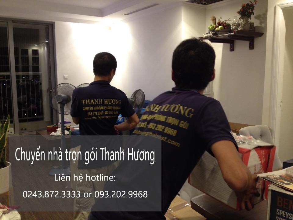 Dịch vụ chuyển nhà trọn gói 365 tại phố Quỳnh Mai 2019