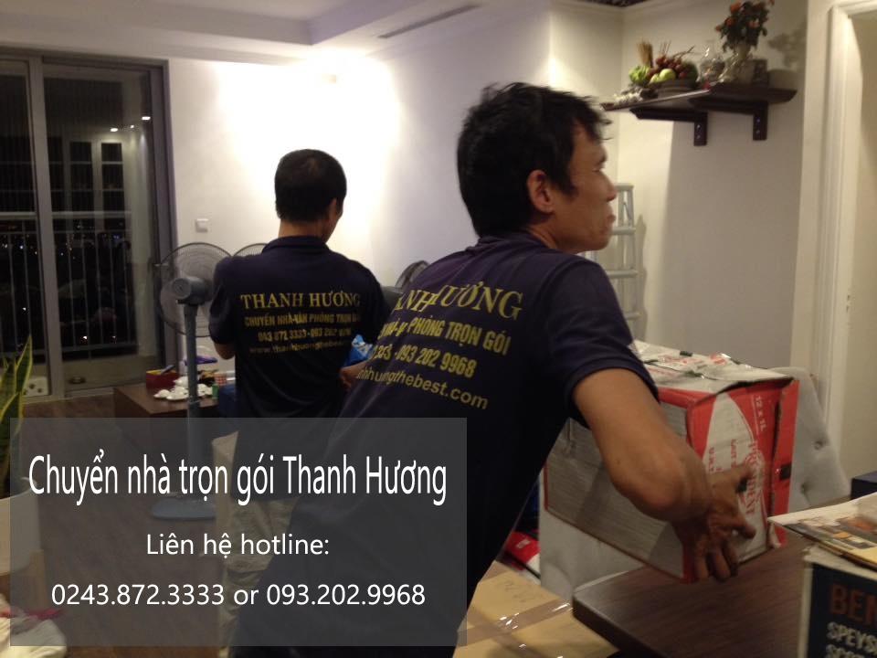 Dịch vụ chuyển nhà trọn gói 365 tại phố Bùi Xuân Phái