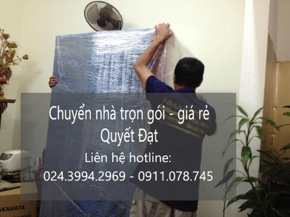 Dịch vụ chuyển nhà trọn gói 365 tại đường Hồ Tùng Mậu