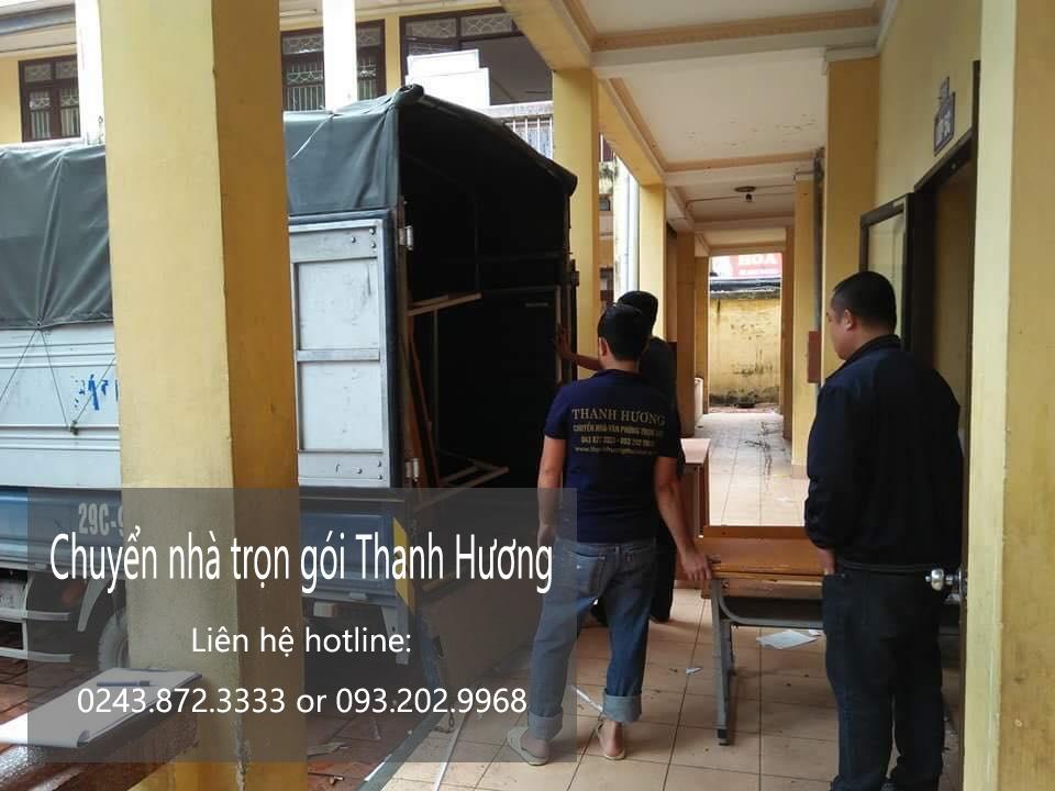 Dịch vụ chuyển nhà trọn gói 365 tại phố Lương Thế Vinh