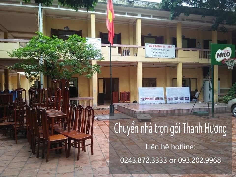 Dịch vụ chuyển nhà trọn gói 365 tại phố Đại Cồ Việt