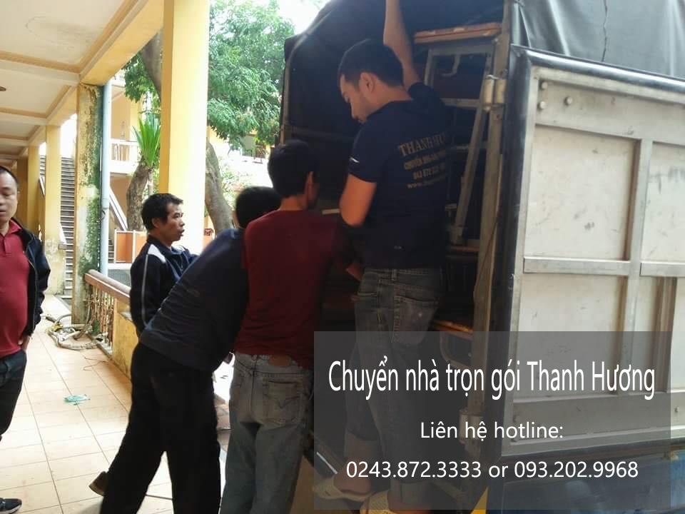 Dịch vụ chuyển nhà trọn gói giá rẻ tại phố Tử Hiệp