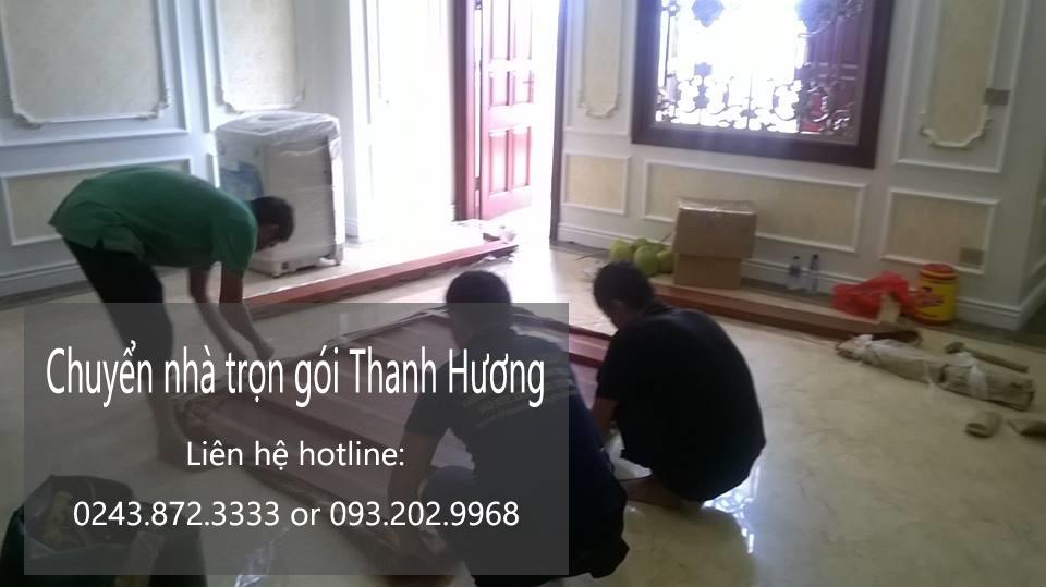 Chuyển nhà trọn gói tại phố Xuân Đỗ