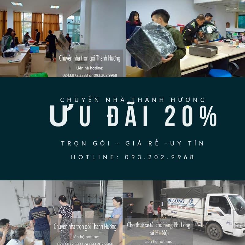 Dịch vụ chuyển nhà trọn gói tại phố Trần Nhật Duật