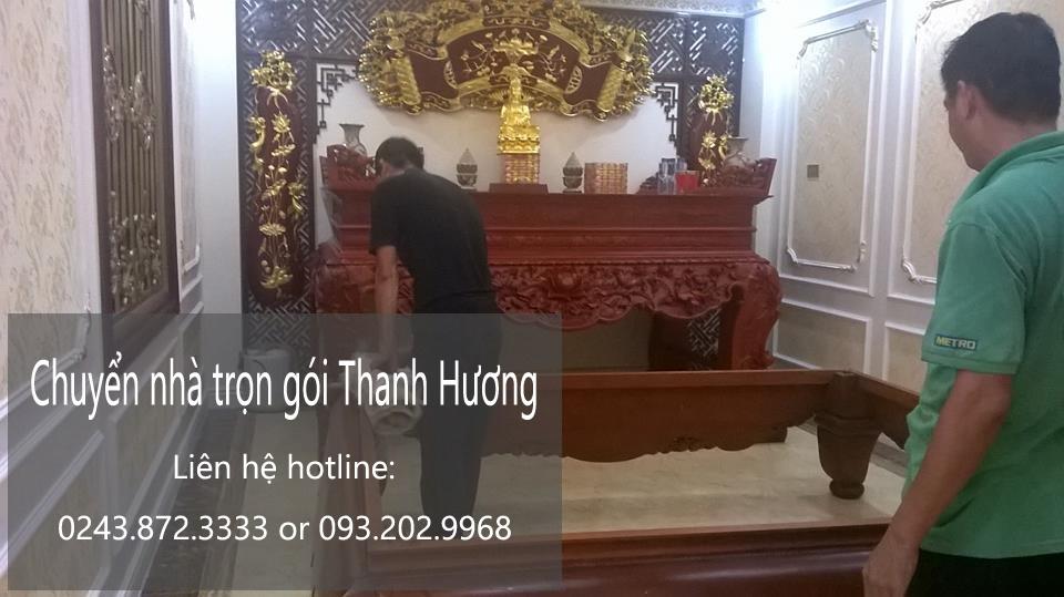 Dịch vụ chuyển nhà giá rẻ chuyên nghiệp Thanh Hương 365 Chuyển nhà trọn gói 365 tại phố Thượng Thanh
