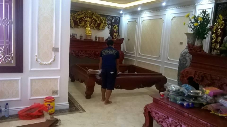 Dịch vụ chuyển nhà trọn gói giá rẻ 365 tại phố Việt Hưng