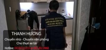 Chuyển nhà trọn gói 365 tại đường Hà Huy Tập