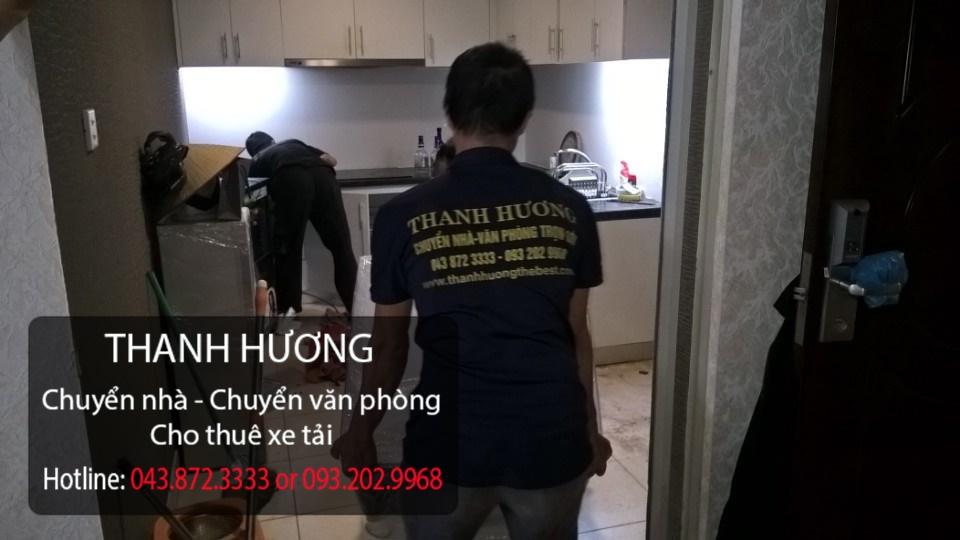 Chuyển nhà trọn gói 365 tại phố Hà Huy Tập