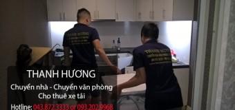Chuyển nhà trọn gói 365 tại phố Mai Anh Tuấn