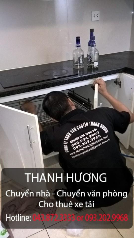 Chuyển nhà 365 lắp tủ bếp cho khách hàng