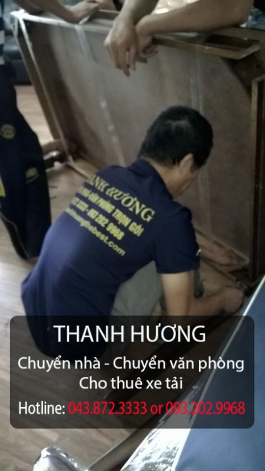 Công ty Thanh Hương chuyển nhà trọn gói giá rẻ 365 tại phố Hoàng Cầu
