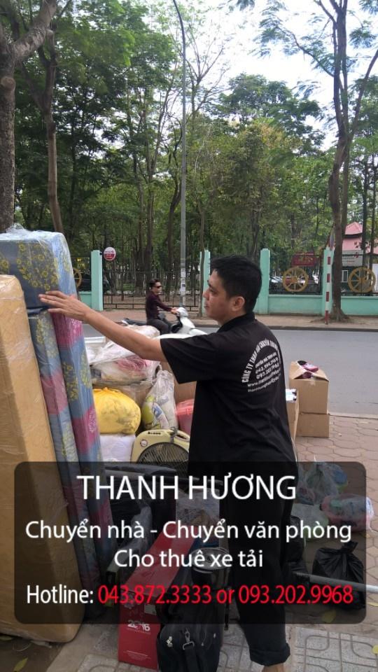 Dịch vụ chuyển nhà trọn gói Quyết Đạt tại đường Long Biên_Xuân Quan