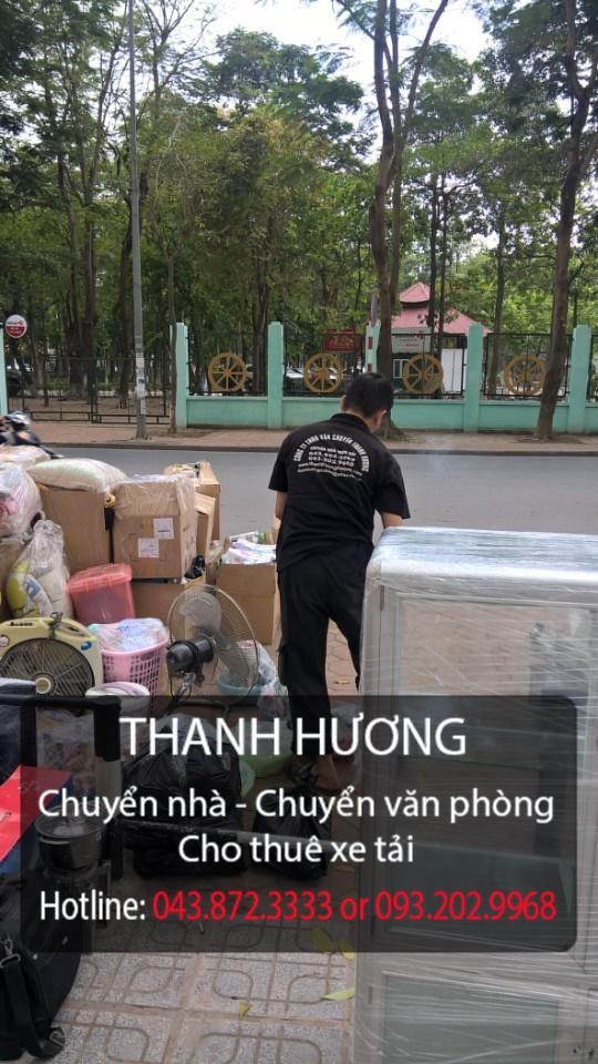 Thanh Hương 365 cung cấp chuyển nhà trọn gói tại đường Ngọc Trì