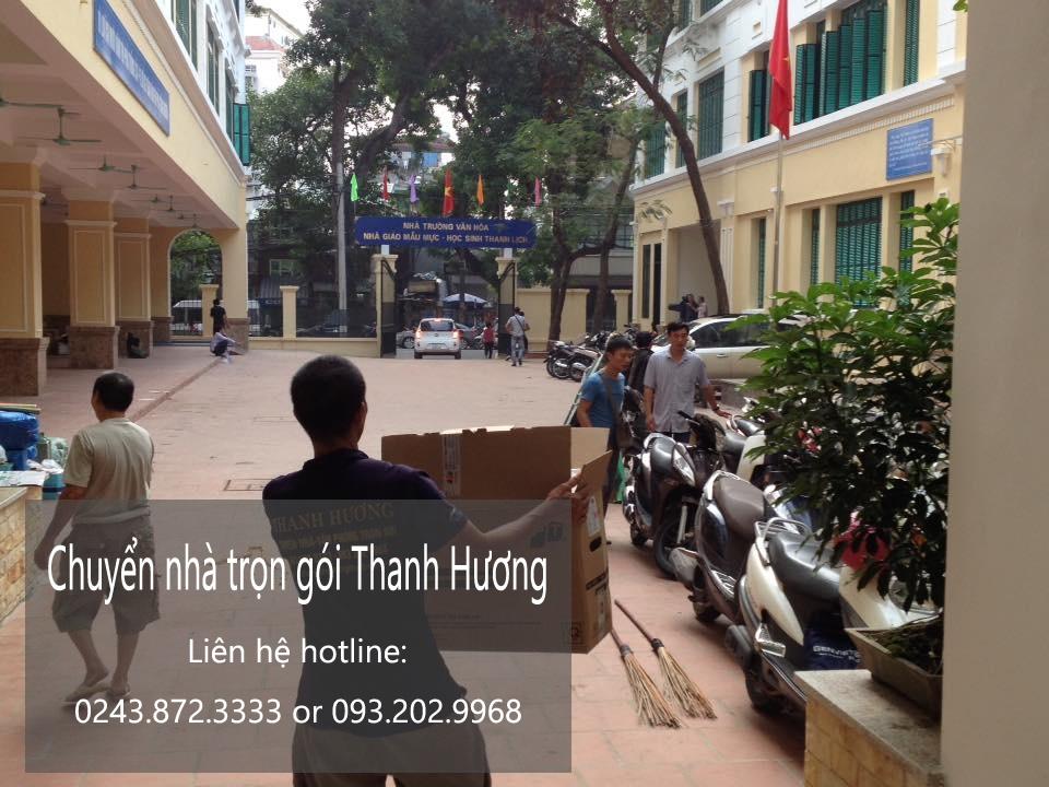 Dịch vụ chuyển nhà trọn gói 365 tại phố Trần Thủ Độ