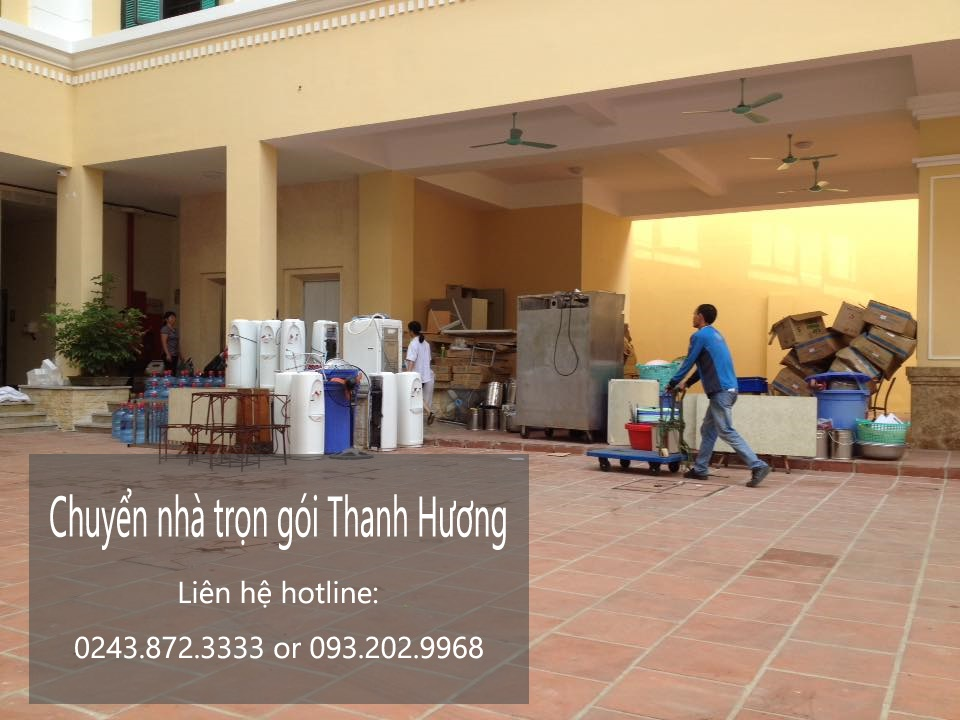 Dịch vụ chuyển nhà trọn gói 365 tại phố Nam Du