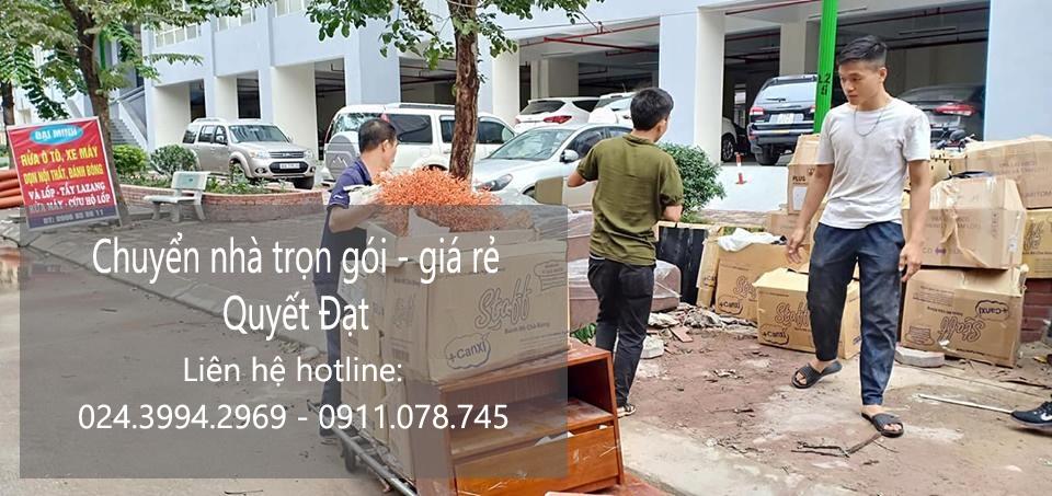 Dịch vụ chuyển nhà trọn gói 365 tại đường Lệ Mật