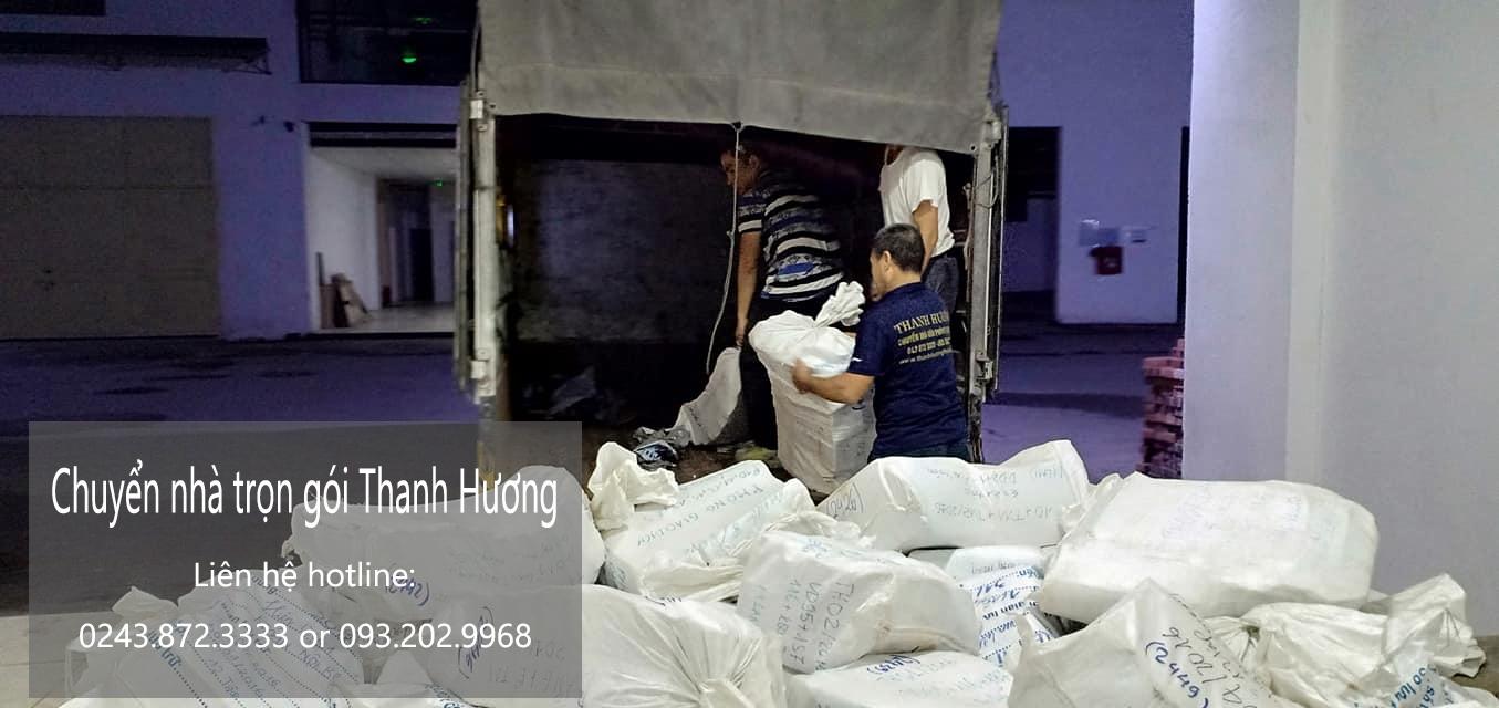 Chuyển nhà trọn gói tại phố Đinh Công Tráng