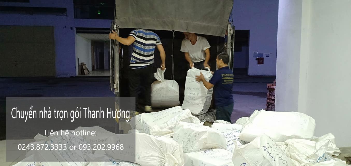 Dịch vụ chuyển nhà trọn gói 365 tại phố Duy Tân