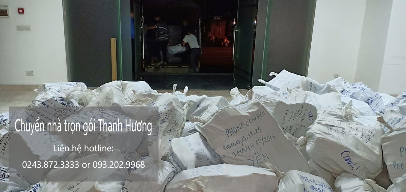 Dịch vụ chuyển nhà trọn gói 365 tại phố Đông Tác