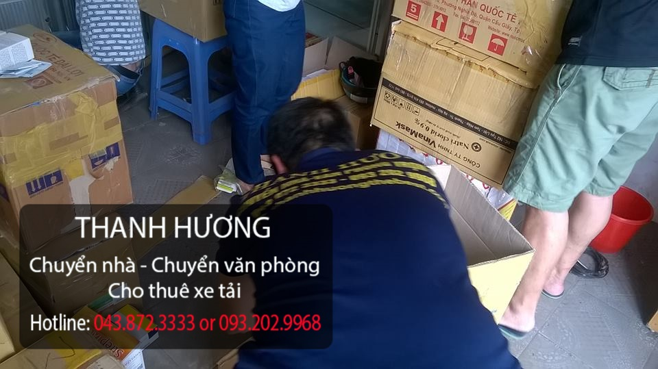 Chuyển nhà trọn gói 365 giá rẻ tại phố Đặng Tiến Đông