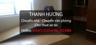 Chuyển nhà trọn gói tại phố Vũ Xuân Thiều