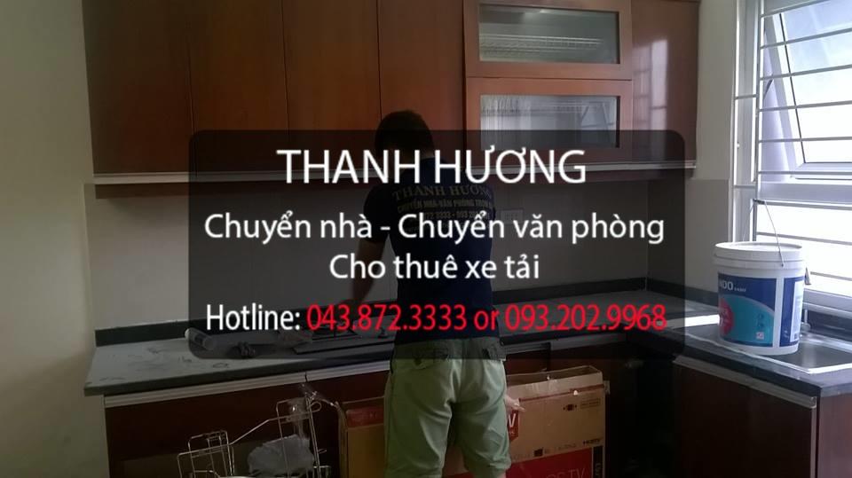 Thanh Hương chuyển nhà trọn gói 365 tại phố Tư Đình
