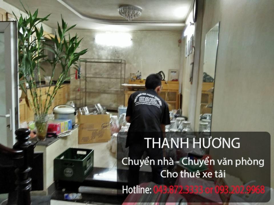 Dịch vụ chuyển nhà trọn gói 365 tại phố Sài Đồng