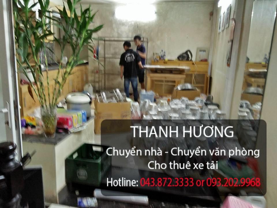 Chuyển nhà trọn gói 365 tại phố Huỳnh Văn Nghệ