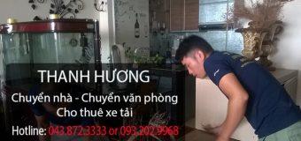 Chuyển nhà trọn gói giá rẻ tại phố Ngô Xuân Quảng