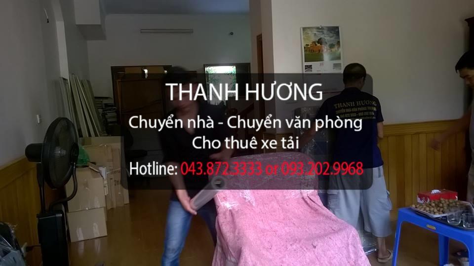 Thanh Hương 365 cung cấp chuyển nhà trọn gói tại phố Nguyễn Văn Linh