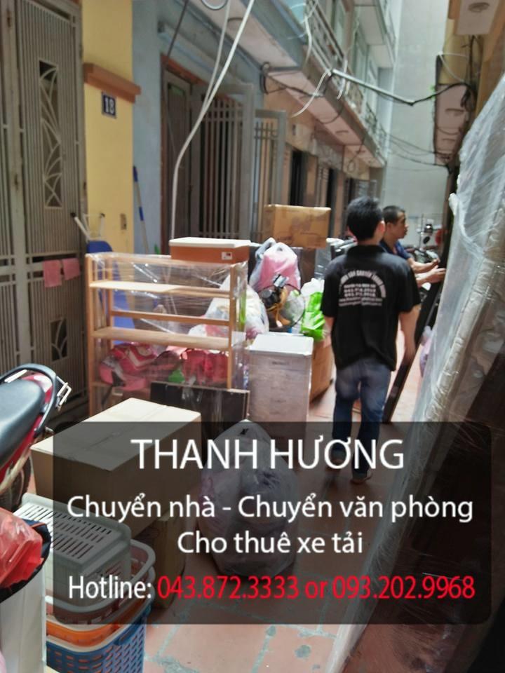 Taxi tải Thanh Hương dịch vụ chuyển nhà trọn gói 365 tại phố Sài Đồng