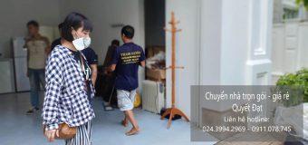 Dịch vụ chuyển nhà trọn gói tại đường Ngọc Thụy