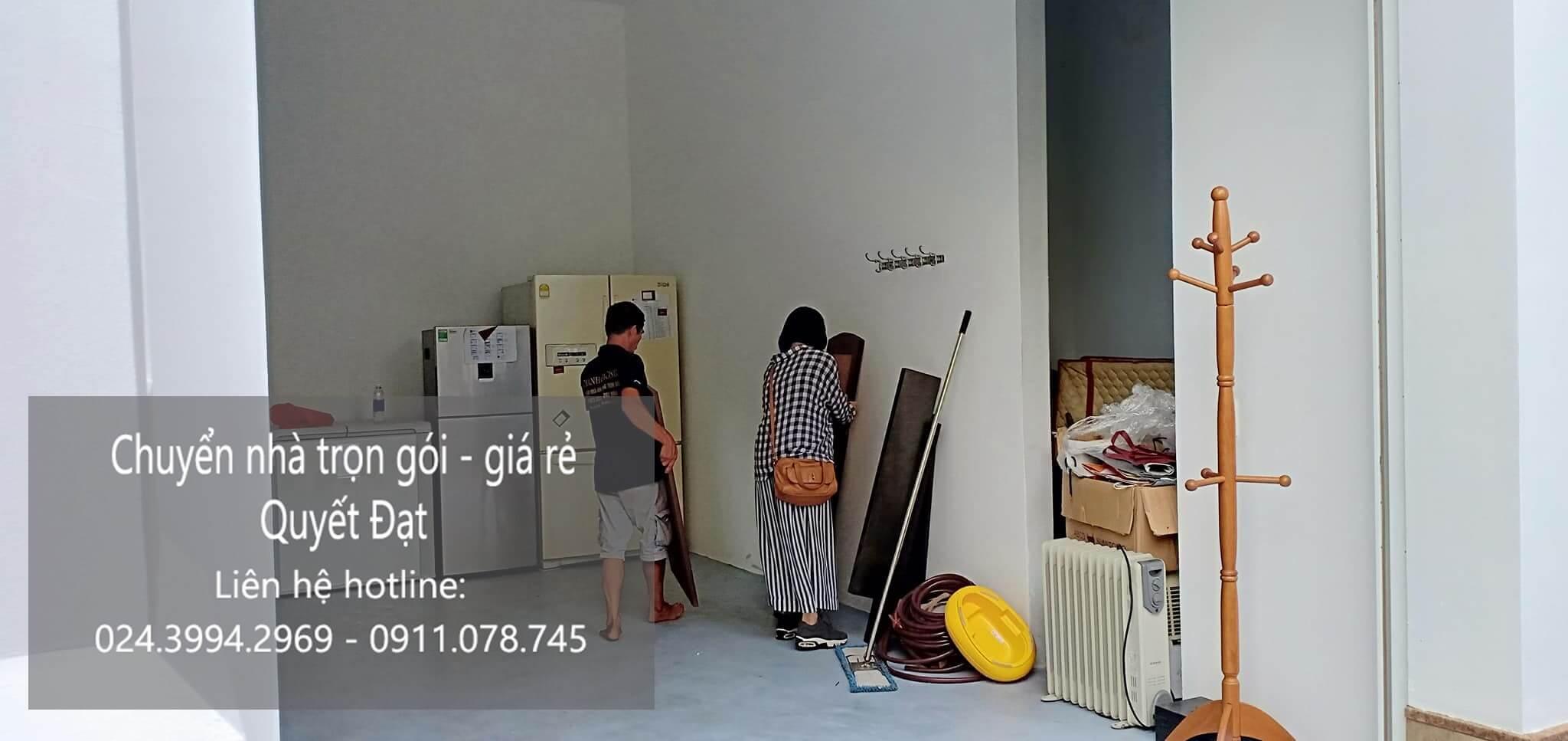 Dịch vụ chuyển nhà trọn gói 365 tại đường huỳnh văn nghệ