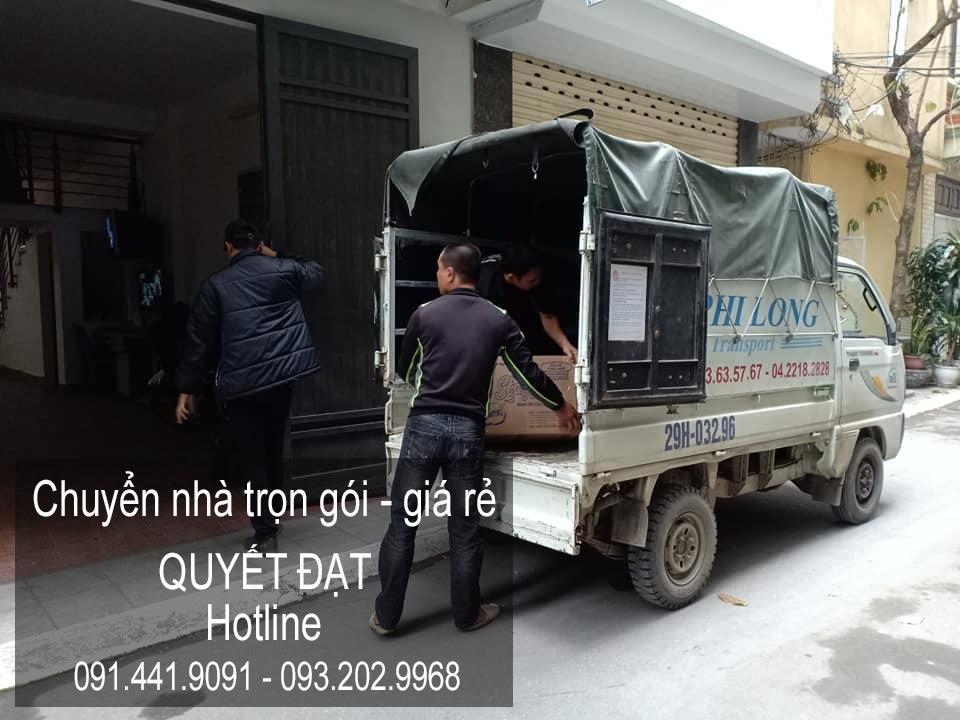 Dịch vụ chuyển nhà 365 tại phường Ngọc Thụy