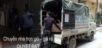Dịch vụ chuyển nhà trọn gói tại đường Lâm Hạ