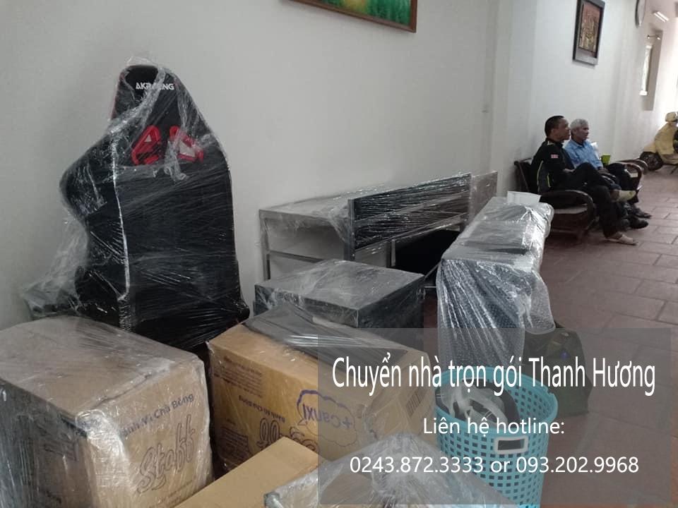 Dịch vụ chuyển nhà trọn gói 365 tại phố Hoàng Thế Thiện