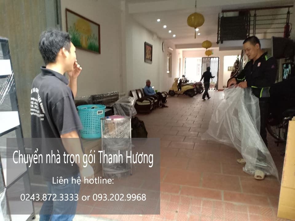Dịch vụ chuyển nhà Thanh Hương tại đường Vũ Lăng