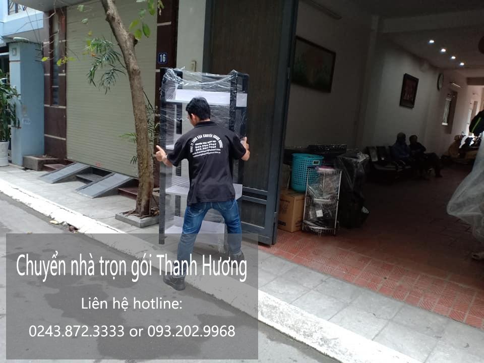 Dịch vụ chuyển nhà trọn gói 365 tại phố Nguyễn Hiền