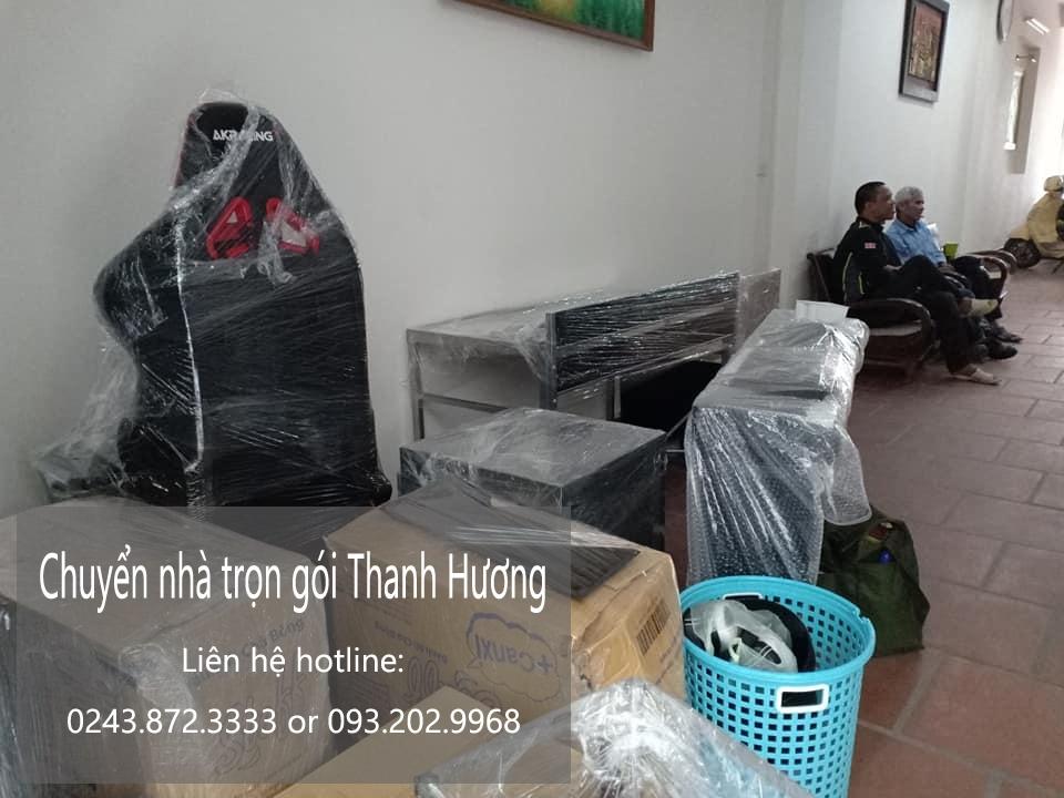 Dịch vụ chuyển nhà trọn gói 365 tại phố Quỳnh Lôi