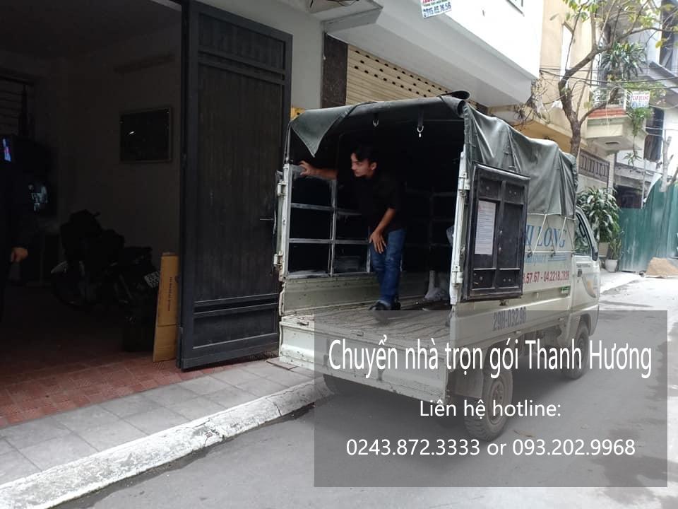 Dịch vụ chuyển nhà trọn gói 365 tại phố Quần Ngựa