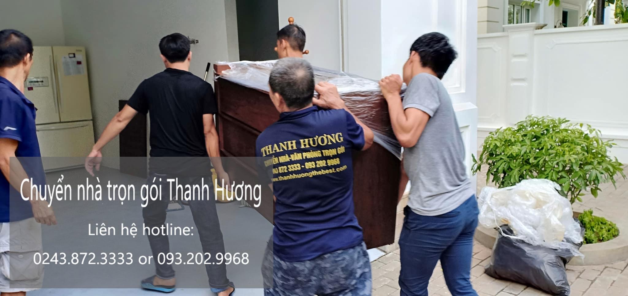 Dịch vụ chuyển nhà tại đường Nguyễn Chính đi Hải Phòng