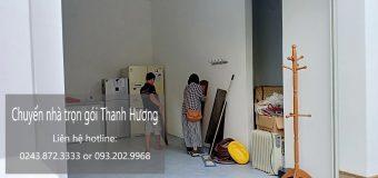 Dịch vụ chuyển nhà trọn gói 365 tại phố Dương Khê