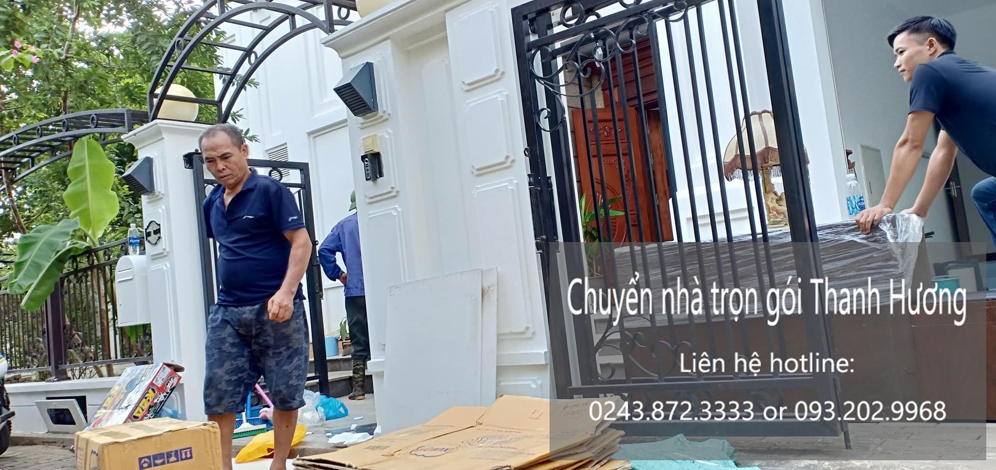 Dịch vụ chuyển nhà trọn gói 365 tại phố Hồng Hà