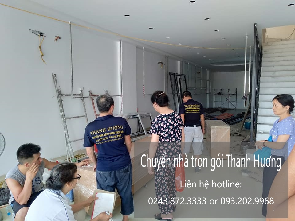 Dịch vụ chuyển nhà chất lượng 365 tại phố Hòe Nhai