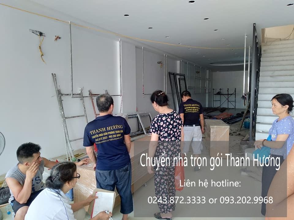Dịch vụ chuyển nhà trọn gói tại phố Sài Đồng