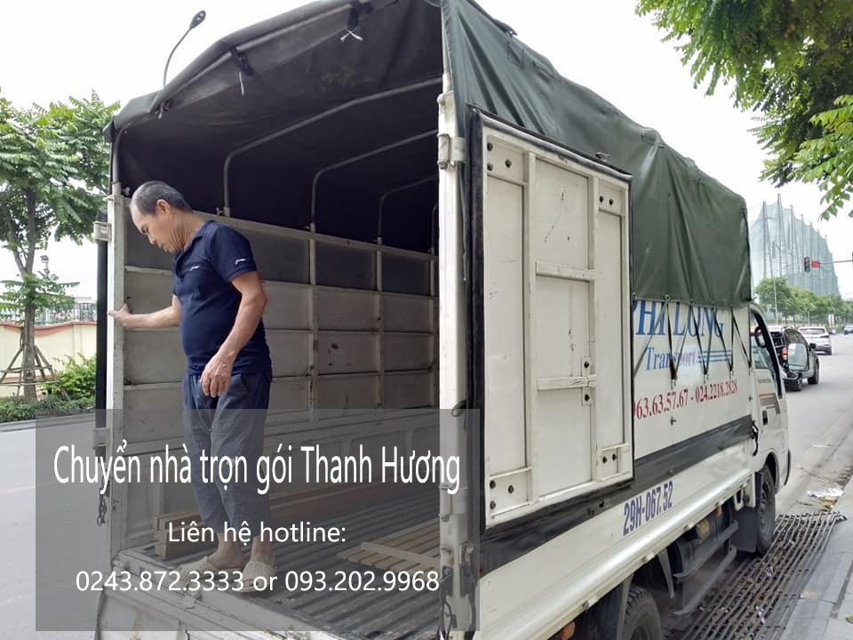 Dịch vụ chuyển nhà trọn gói 365 tại phố Tô Ngọc Vân