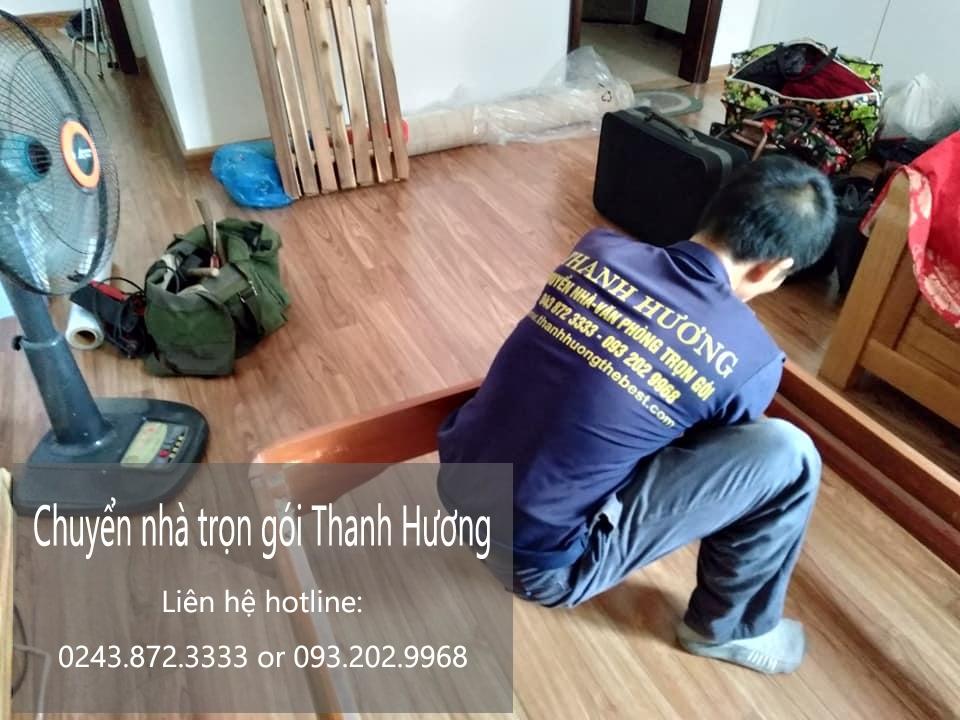 Chuyển nhà trọn gói 365 Thanh Hương tại phố Gia Biên